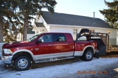 Touchdown Towing & Storage has a gooseneck flatbed trailer for jobs that require vehicle hauling