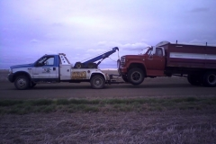 Touchdown Towing & Storage can tow large farm vehicles