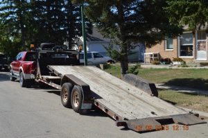 Flatbed Towing from Touchdown Towing and Storage
